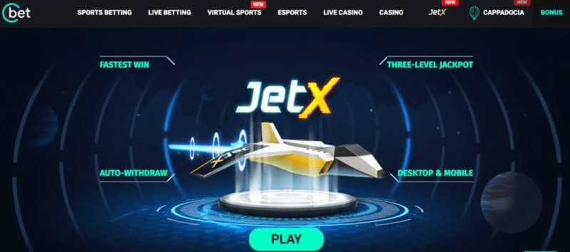 JetX By SmartSoft Gaming at Cbet