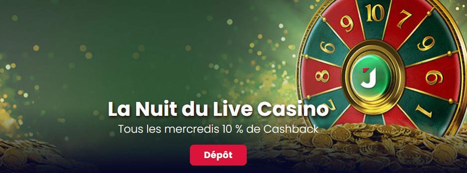 Jack21 Casino Live Casino