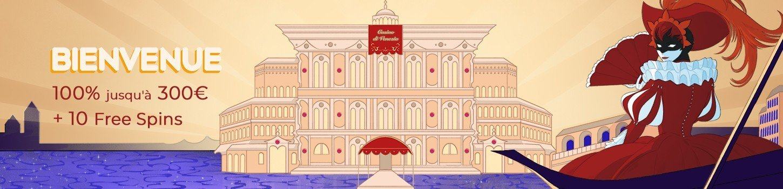 Arlequin Casino pack de bienvenue